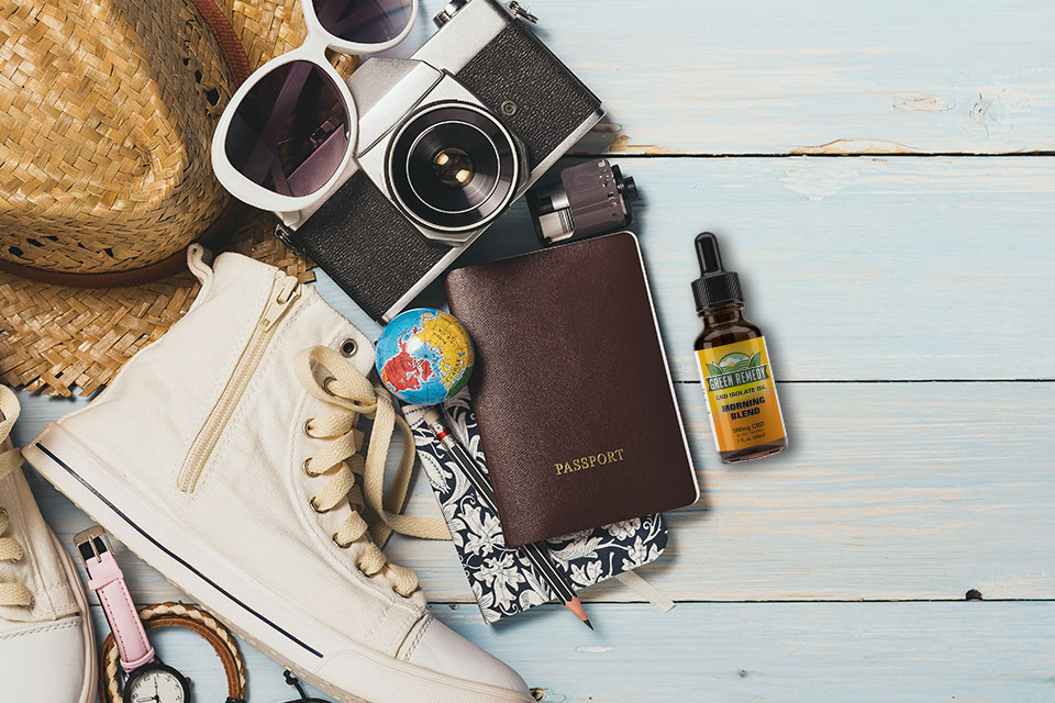Can I travel with hemp-extracted CBD?
