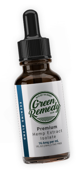 Green Remedy Evening Blend CBD Testimonials