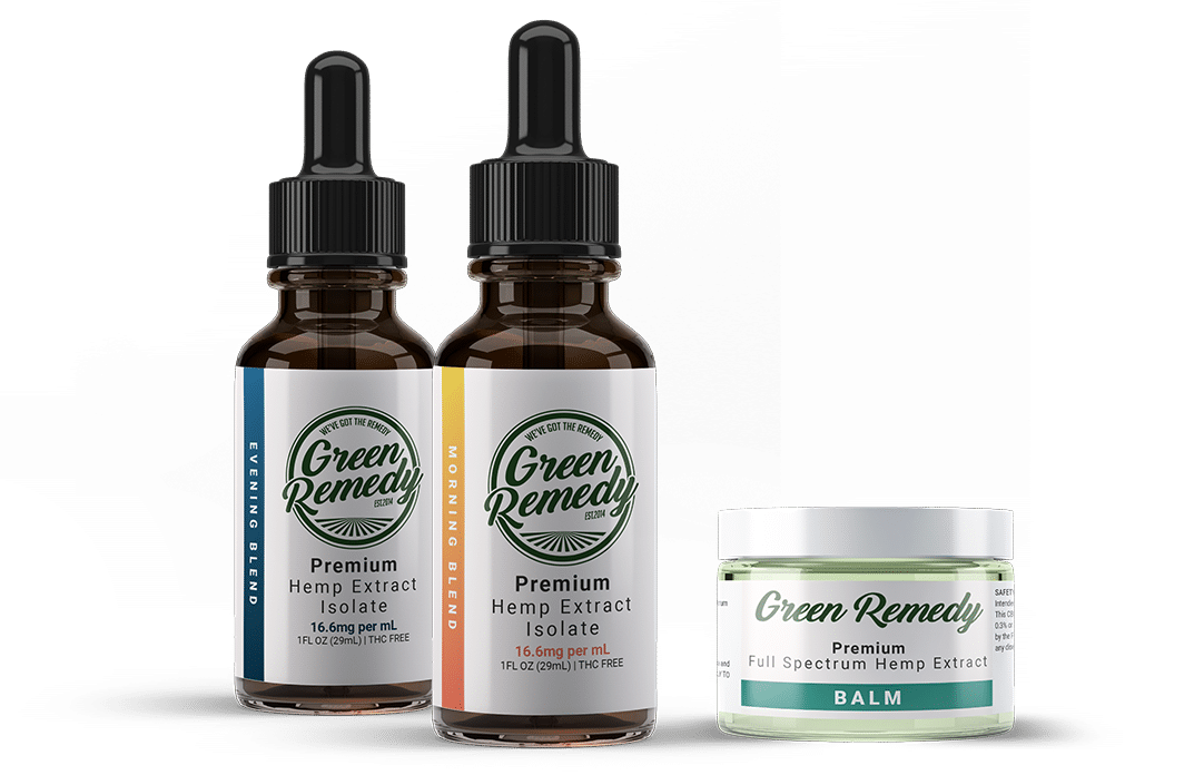 Green Remedy CBD Serving Sizes