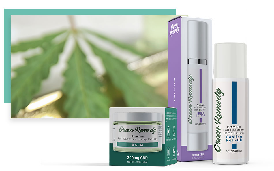 Green Remedy CBD Hemp Topicals